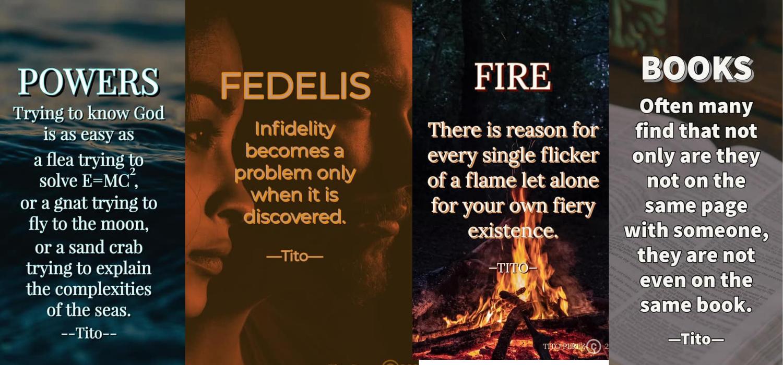 Permalink to: ONDAS: Powers, Fedelis, Fire, Books